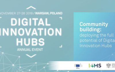 Digital Innovation Hubs Annual Event 2018 | 27-28 November 2018 | Warsaw