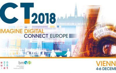 ICT 2018: Imagine Digital – Connect Europe | 4-6 December 2018 | Vienna