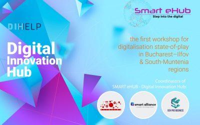 Digitalization state-of-play of Bucharest–Ilfov and South-Muntenia regions  | 6 June | Bucharest