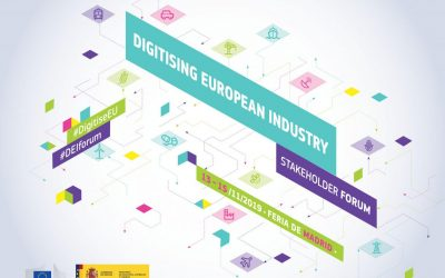Meet DIHELP DIHs at the Digitising European Industry Stakeholder Forum | 13-15 November | Madrid